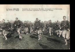 MIL Guerre 1914-18, Armée Ecossaise, Bataillon De Volontaires, Charge à La Baionnette, Ed RPJC 191, 1915 - Guerre 1914-18
