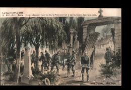 MIL Guerre 1914-18, Patriotique, Kolossal Kultur, Propagande, Sépulture Poincaré Profanée, Ed RPJC 5, 1915 - Patriotiques