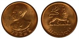 Etiopia Ethiopia 1 Cent EE1936 #7099 - Etiopia