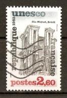 1982 - U.N.E.S.C.O. - Patrimoine Universel - Sâo Miguel - Brésil - Service N°72 - Gebraucht
