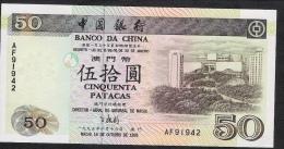 MACAU  P92a    50  PATACAS    1995      UNC. - Macao
