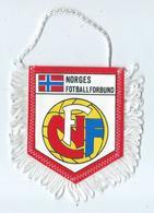 Fanion Football L'equipe De Norvege - Habillement, Souvenirs & Autres