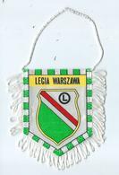 Fanion Football Legia Warszawa - Habillement, Souvenirs & Autres