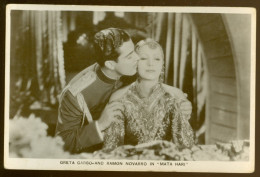 "Artiste De Ciné Film Acteur Filmster Cinema :   Greta Garbo & Ramon Navarro In "" Mata Hari "" - Acteurs"