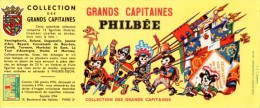 Buvard  Philbée, Les Grands Capitaines + Point Ima. - Pain D'épices
