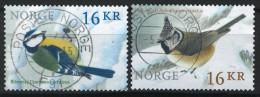 Norway 2015 Birds I Set, Mi 1870-1 - Used Stamps
