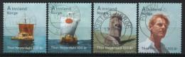 Norway 2014, Thor Heyerdahl Set, Mi 1849-52 - Used Stamps