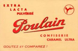 Buvard  Chocolat Poulain. - Cocoa & Chocolat