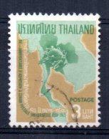 Thailand - 1965 - 3 Baht 80th Anniversary Of Admission To UPU - Used - Thaïlande