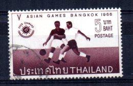 Thailand - 1966 - 5 Baht Asian Games/Football - Used - Thaïlande