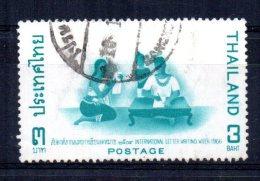 Thailand - 1966 - 3 Baht International Correspondence Week - Used - Thaïlande