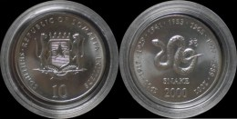 Somalia 10 Shilling 2000- Snake - Somalie