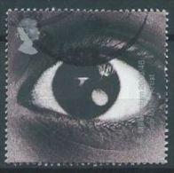 GB 2000 Sound & Vision: Eye  2 Nd  SG 2175 SC 1935 MI 1902 YV 2214 - Used Stamps