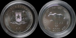 Somalia 10 Shilling 2000- Ox - Somalie