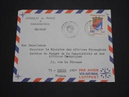MADAGASCAR - Lettre à étudier - Lot N° 10166 - Madagascar (1960-...)