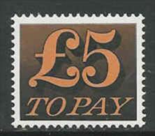 GB, Mi 86 Jaar 1970,  Postfris (MNH**) Hoogste Waarde,   Cote 52,00 Euro à 17 %, Zie Scan - Taxes
