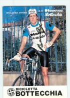 Antonio BEVILACQUA , Autographe Manuscrit, Dédicace . 2 Scans. Cyclisme. Hoonved Bottecchia 1982 - Wielrennen