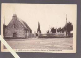 Ligné - Chapelle Saint Mathurin Et Monument Aux Morts - éd Guillard - Ligné