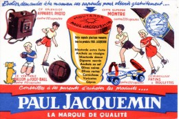 Buvard Moutarde Paul Jacquemin. - Moutardes