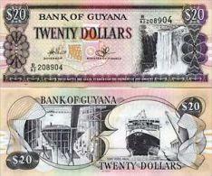 GUYANA 20 DOLLARS 2009 FDS UNC - Guyana