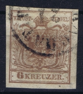 Austria: Mi Nr 4 X , 1850 - Gebraucht