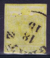 Austria: Mi Nr 1 Y A Kartonpapier 0.14 Mm  Gebraucht/used/obl. - Gebraucht