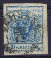 Austria: Mi Nr 5 Y A Kartonpapier 0.14 Mm  Gebraucht/used/obl. - Gebraucht