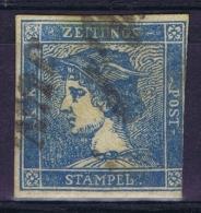 Austria: Mi Nr 6 I  Gebraucht/used/obl. 1851 Zeitungsmarke - Gebraucht