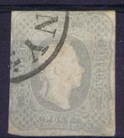 Austria: Mi Nr 23 A    Gebraucht/used/obl. 1861 Signed/ Signé/signiert - Gebraucht