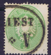 Austria: Mi Nr 25 A    Gebraucht/used/obl. 1861 Cancel Triest - Gebraucht