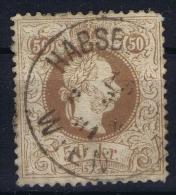 Austria: Mi Nr 41 II   Gebraucht/used/obl. 1867 - Gebraucht