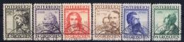 Austria: Mi Nr 591 - 596 Gestempelt/used/obl.   1934 - Gebraucht