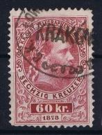 Austria: Mi Nr Telegrafenmarke 15 A Gestempelt/used/obl.   1874  Perfo 10,50 - Telegraphenmarken