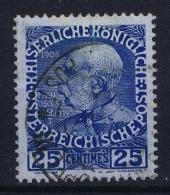 Austria Post Auf Kreta Mi Nr 20 X Hellblau Gestempelt/used/obl. - Levante-Marken
