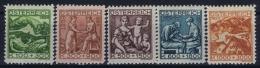 Austria Mi nr 442 - 446    MNH/** sans Charni�re  Postfrisch   1924