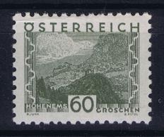 Austria Mi nr 542 MH/* Falz. 1932