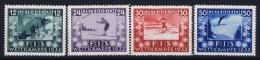 Austria Mi nr  551 - 554 MH/* Falz.  1933 FIS