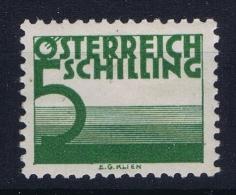Austria Mi Nr  157MH/* Falz.  1925 - Portomarken
