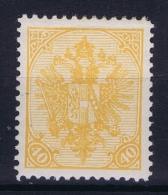 Bosnien-Herzegowina Mi 19 A MH/*, Avec Charnière , Mit Falz, Perfo 12.50 * 12.50 - 1850-1918 Imperium