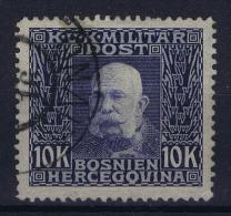 Bosnien-Herzegowina Mi  84 Gebraucht/used/obl. 1912   Signed/ Signé/signiert  Richter - Gebraucht