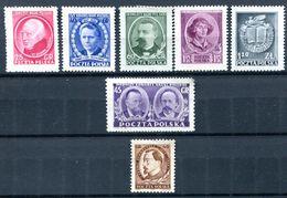 POLOGNE - Y&T 608* à 613* (série Complète) Et 614* - (20% De La Cote) - 1944-.... República