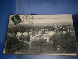 94 - DE LA VARENNE A CHAMPIGNY - PANORAMA SUR LE PONT - CPA ECRITE AVANT 1920 - Champigny Sur Marne