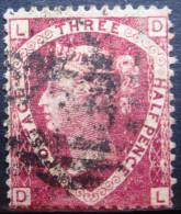 GRANDE-BRETAGNE          N° 50       Planche 3        OBLITERE - 1840-1901 (Victoria)
