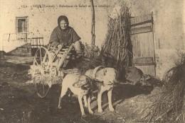 GIEN  : Attelage De Chiens : Fabriquant De Balais -REPRO - Cartes Postales