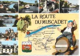 """44 """" La Route Du Muscadet """" 1966 - Nantes"""