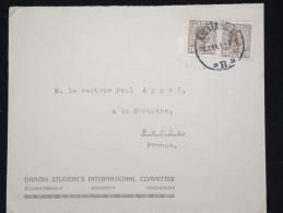 DANEMARK - Enveloppe Pour La Franceen 1921 - A Voir - Lot P12429 - 1913-47 (Christian X)