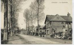 5900 - Marne -  ETOGES  :  LA  CERISERIE  (disparue ??) BATIMENT NOMME  ( RARE) -   Circulée En 1918 Sous Enveloppe) - France