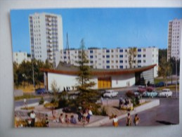 MOURENX-VILLE NOUVELLE : Le Jardin Japonnais Et L'Eglise Dans Les Années 1960 - Frankrijk