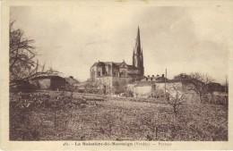 Vendée - La Boissière-de-Montaigu (Lib Poupin à Mortagne) Type Sépia - écrite - France
