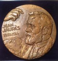 Médaille CENTENAIRE DE LA NAISSANCE DE JEAN JAURES - 1959 Par Revol - Royaux / De Noblesse
